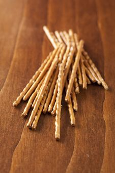 Free Salted Sticks Royalty Free Stock Image - 7719546