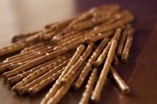 Free Salted Sticks Royalty Free Stock Photo - 7719805