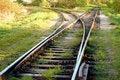Free Curvy Railway Tracks Stock Photo - 7721620