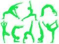Free Yoga Silhouettes Stock Photo - 7725620