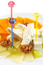 Free Cheese Plate Royalty Free Stock Image - 7728806