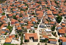 Free Greek Village, Aerial View Stock Photos - 7720003
