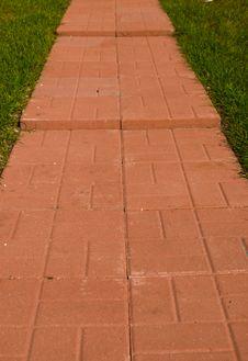 Free Brick Path Stock Images - 7720284
