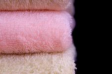 Free Colorful Towels Isolated Stock Photos - 7720363
