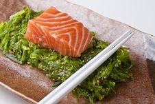 Free Salmon Sashimi Royalty Free Stock Image - 7720736