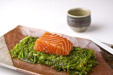 Salmon Sashimi Royalty Free Stock Photos