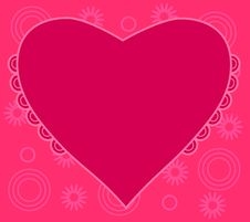 Free Red Heart Pattern Royalty Free Stock Photography - 7721377