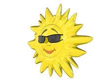 Free Cartoon Sun Stock Image - 7721461