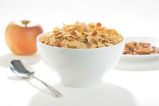 Free Bowl Of Cereal With Raisins Stock Photos - 7721573