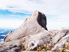 Free Granite Mountain Landscape - Mount Kinabalu Royalty Free Stock Photography - 7721697