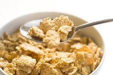 Free Bowl Of Cereal With Raisins Stock Photo - 7721730