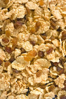 Free Bowl Of Cereal With Raisins Stock Photo - 7721740