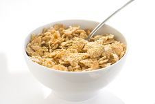 Free Bowl Of Cereal With Raisins Stock Photography - 7721752