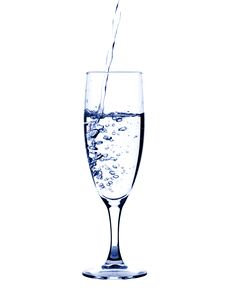 Free Glass Of Pouring Water Royalty Free Stock Photos - 7722308