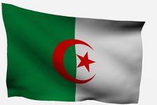 Free Algeria 3D Flag Royalty Free Stock Image - 7722546