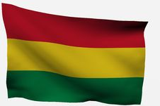 Free Bolivia 3D Flag Stock Photo - 7722570