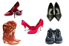 Free Footwear Royalty Free Stock Photography - 7722617