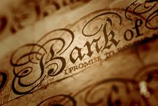Free Banknote Close-up Royalty Free Stock Photography - 7723317