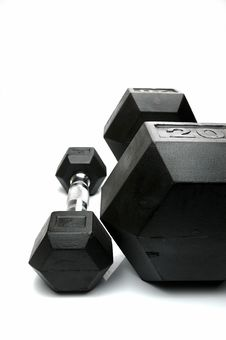 Free Dumbbells Royalty Free Stock Images - 7723509
