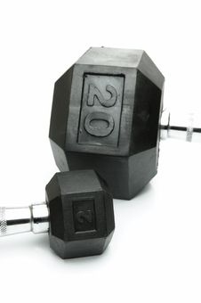 Free Dumbbells Stock Images - 7723584