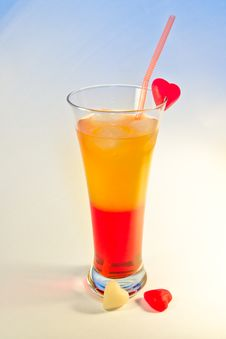 Free Campari-orange Cocktail Royalty Free Stock Photo - 7723775