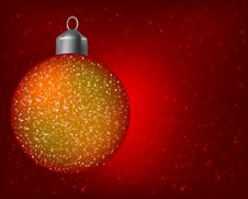 Free Christmas Red Background Stock Image - 7724841