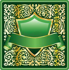 Free Ornate Green Royalty Free Stock Photo - 7724845
