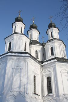 Free The Savior Transfiguration Cathedral In Izium Royalty Free Stock Image - 7724956