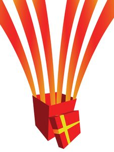 Free Red Gift Box Royalty Free Stock Photo - 7724985