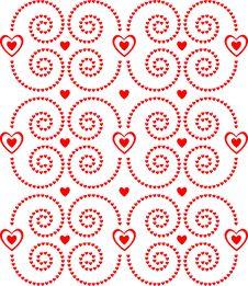 Free Hearts Pattern Stock Photo - 7725000