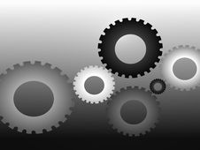 Free Cogs In Various Sizes Stock Photography - 7725552