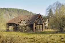 Free Ramshackle Rural Structure Stock Image - 7725611