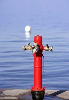 Sea Marine Hydrant In Mediterranean Sea Royalty Free Stock Photography