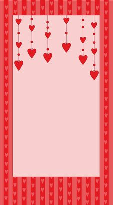 Free Valentin`s Card Royalty Free Stock Images - 7726449