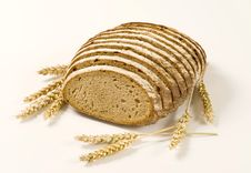 Sliced Loaf Of Bread Stock Image