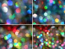 Free Pentagon Rainbow Light Sparkles Royalty Free Stock Images - 7727129