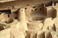 Mesa Verde Stonework Stock Images