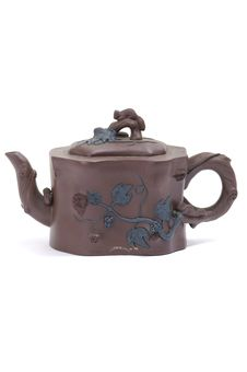 Free Clay Teapot Royalty Free Stock Image - 7728206