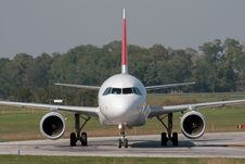 Free Taxiing After Landing Royalty Free Stock Photo - 7728445
