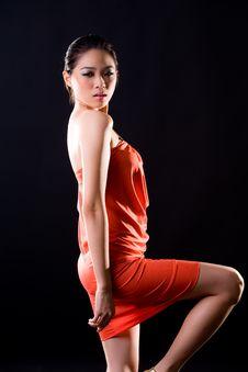Free Stylish Fashion Asian Young Woman Stock Image - 7728561