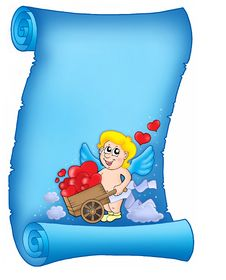 Free Valentine Letter With Cupid 2 Stock Images - 7728684