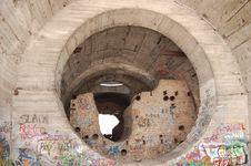 Free Old Tunnel Of Stalin. Stock Photos - 7729663