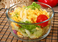 Free Small Dinner Salad In Bowl Stock Photo - 7730050