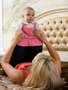 Free Baby With Mom Royalty Free Stock Photography - 7731697