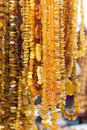 Free Amber Beads Royalty Free Stock Photos - 7731938
