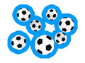 Free Soccer Balls Royalty Free Stock Photography - 7733217