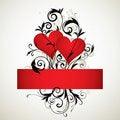 Free Hearts Background Stock Image - 7733801