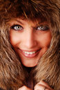 Free Woman In Fur Cap Stock Photography - 7734002