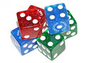 Free Pile Of Colorful Dice Royalty Free Stock Images - 7734029