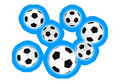 Free Soccer Balls Royalty Free Stock Photos - 7736708